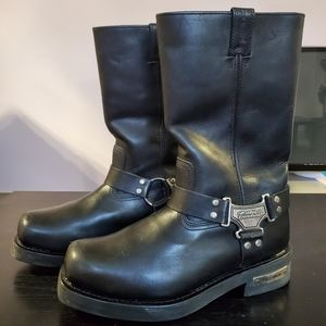 Harley Davidson Motorcycle Safety Boots, 11 wide
